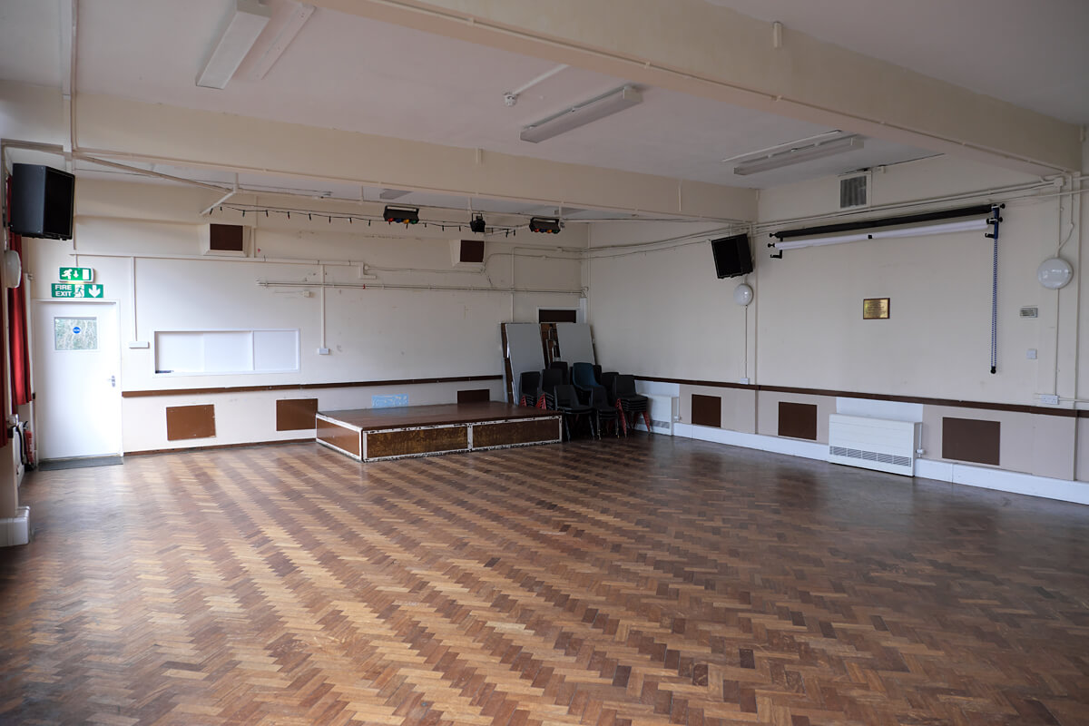 Upper Hall for Hire in SW London