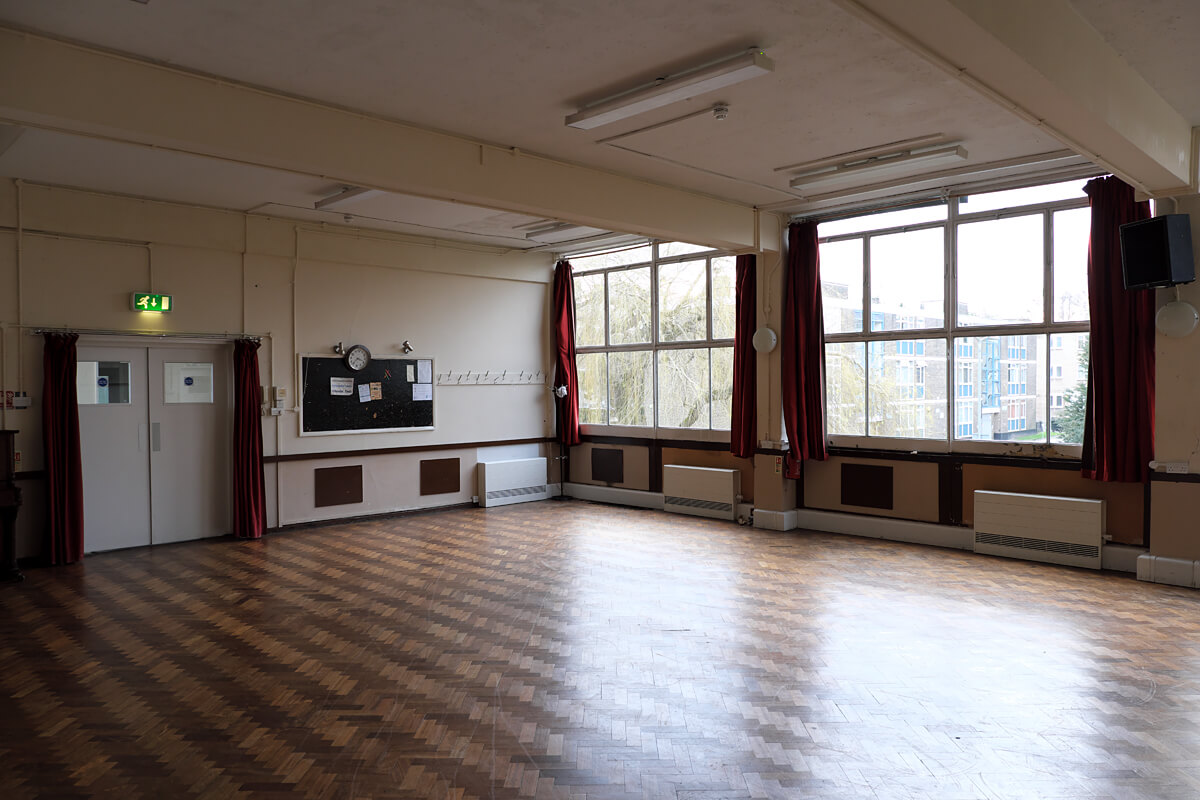 Large Hall for Hire Wandsworth