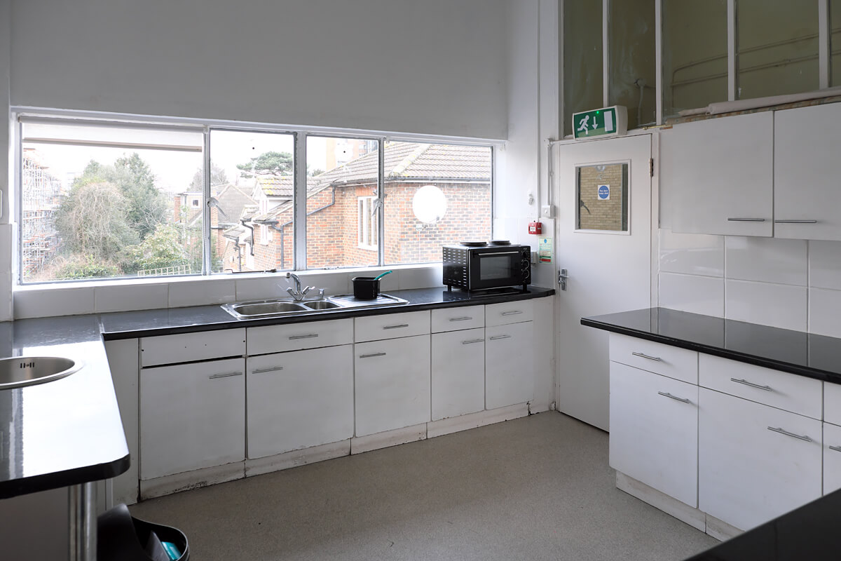 Kitchen in the Upper Hall for Hire